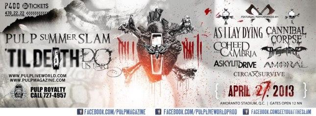 Pulp Summer Slam 13: Til Death Do Us Part